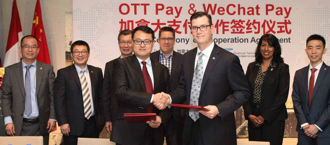 OTT Pay Signs Partnership with WeChat Pay to Launch WeChat Payment Services in Canada
