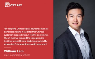 William Lam, OTT Pay's Chief Commercial Officer, talks about innovations in payments