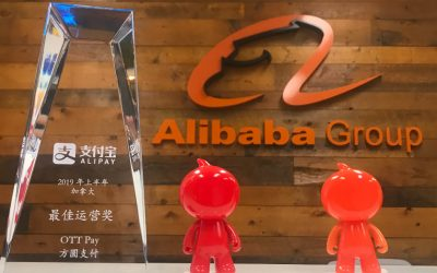 Alipay recognizes OTT Pay with a 2019 Excellence in Operation Award