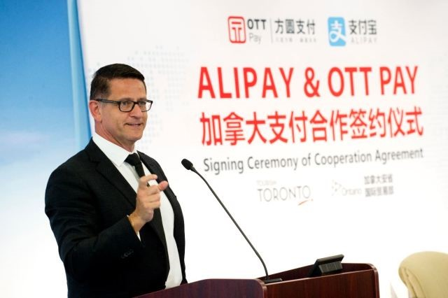 OTT Pay brings Alipay In-store Services to Canadian Merchants!