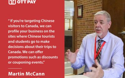 Martin McCann, OTT Pay's CRO, talks about Chinese digital payments
